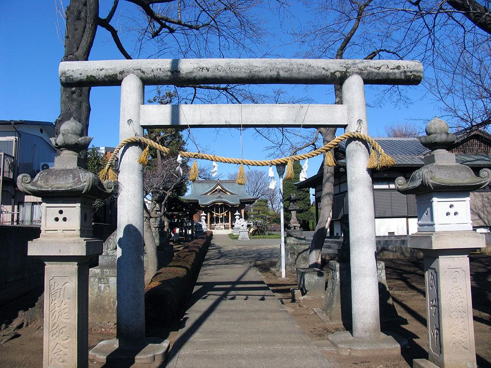 086-針ヶ谷氷川神社